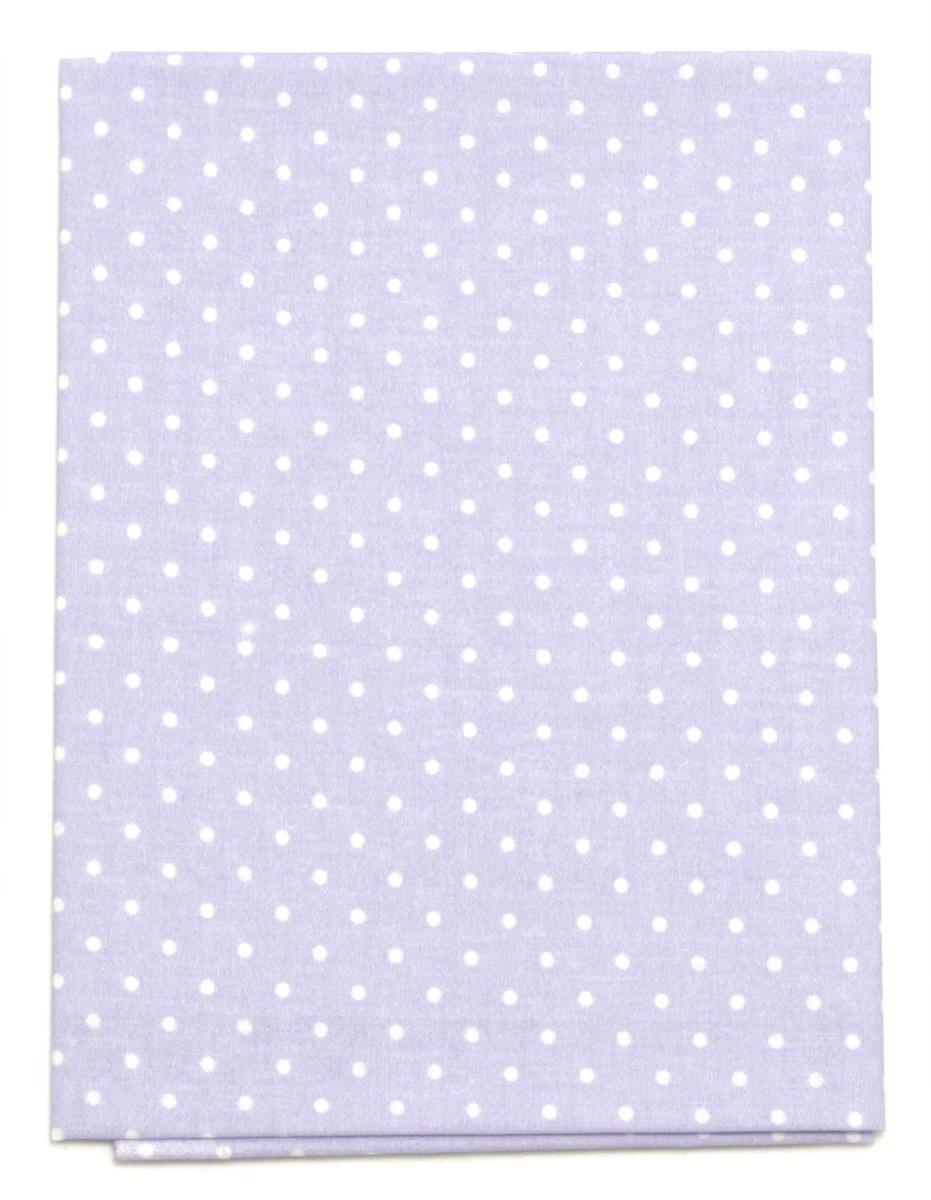 Ткань Кустарь Горошек 2 мм, цвет: светло-лавандовый, 48 х 50 см. AM556005NLED-454-9W-BKТкань Кустарь - это высококачественная ткань из 100% хлопка, которая отлично подходит для пошива покрывал, сумок, панно, одежды, кукол. Также подходит для рукоделия в стиле скрапбукинг и пэчворк.Плотность ткани:120 г/м2. Размер: 48 х 50 см.