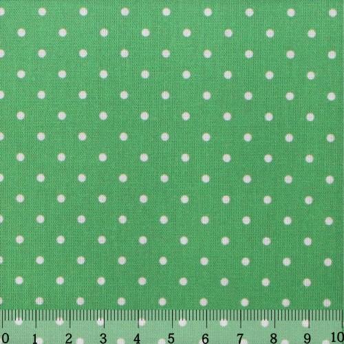 Ткань Кустарь Горошек 2 мм, цвет: светло-зеленый, 48 х 50 см. AM556007755Ткань Кустарь - это высококачественная ткань из 100% хлопка, которая отлично подходит для пошива покрывал, сумок, панно, одежды, кукол. Также подходит для рукоделия в стиле скрапбукинг и пэчворк.Плотность ткани:120 г/м2. Размер: 48 х 50 см.