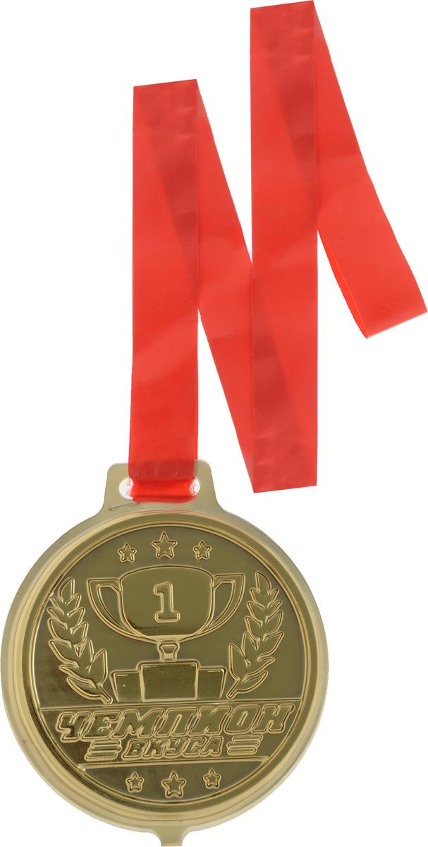 Чемпион вкуса Медаль шоколад молочный, 45 г1775Шоколадная медаль из настоящего молочного шоколада в коррексе.