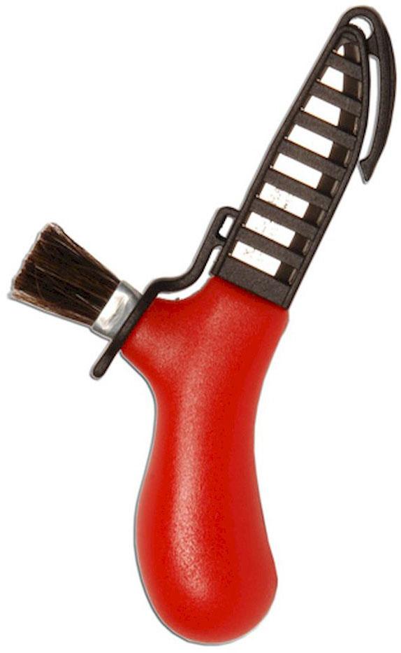 Нож туристический Morakniv Karl-Johan, для грибов, цвет: красный, стальной, длина лезвия 6,2 смG802-ORНож грибника Morakniv Karl-Johan разработан известным шведским дизайнером Карлом Йоханом (Karl Johan). Поставляется в удобном защелкивающемся и легко снимающемся пластиковом защитном чехле. Чехол имеет клипсу для надежного крепления ножа на поясе. Также грибной нож Morakniv Karl-Johan имеет жесткую кисть из натуральной щетины для очистки грибов от сора. С грибным ножом Morakniv Karl-Johan вам не придется перебирать грибы по возвращении из леса!Общая длина ножа: 14,1 см.
