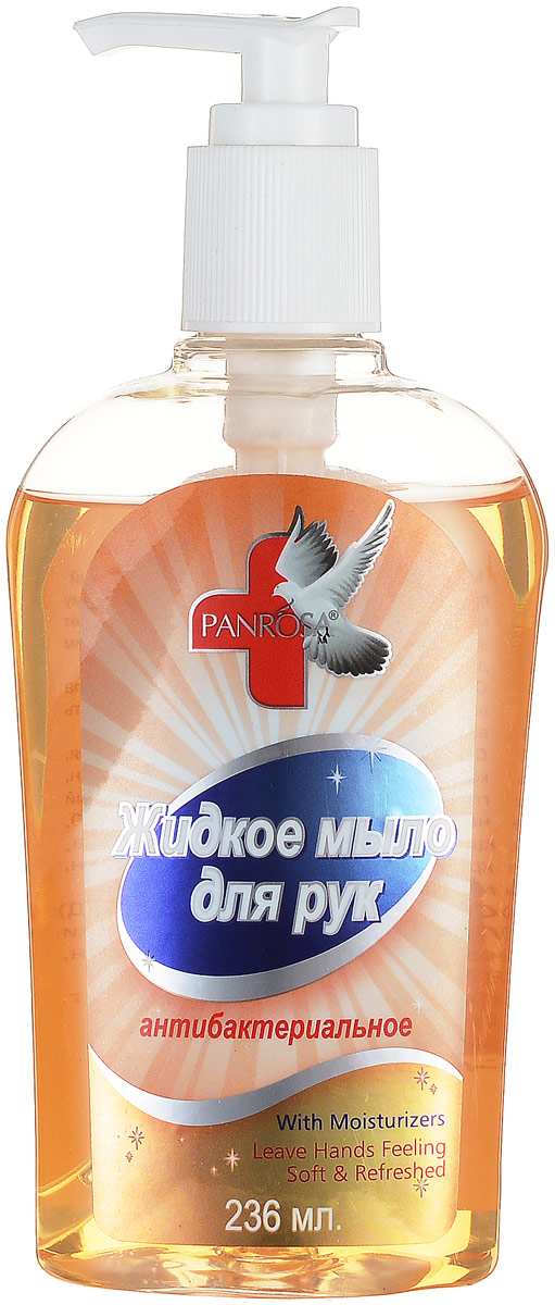 Жидкое мыло Panrosa Антибактериальное 236млSatin Hair 7 BR730MNАнтибактериальное жидкое мыло Panrosa борется со всеми видами бактерий и благодаря своей нежной формуле подходит даже для самой чувствительной кожи. Кроме того, мыло насыщенно натуральными экстрактами, которые делают кожу рук мягкими и гладкими.