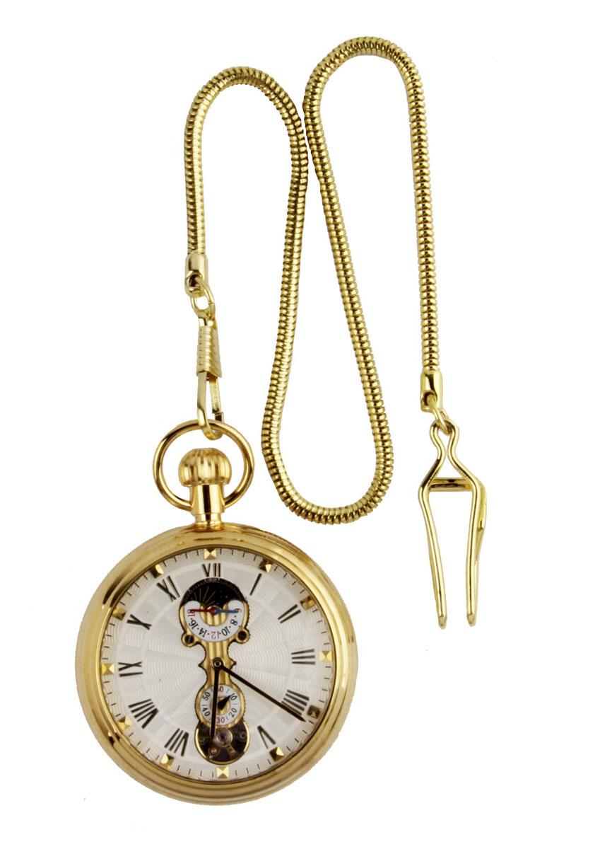 Классические карманные часы-скелетоны на цепочке. Металл, стекло, механический завод. Конец XX векаBM8434-58AEКлассические карманные часы-скелетоны на цепочке. Металл, стекло, механический завод. Конец XX века. Длина цепочки 38 см, диаметр - 5 см. Сохранность хорошая. Часы в рабочем состоянии. Оригинальные карманные часы в металлическом корпусе и на цепочке. Стильный акцент винтажного образа и оригинальная идея для подарка!