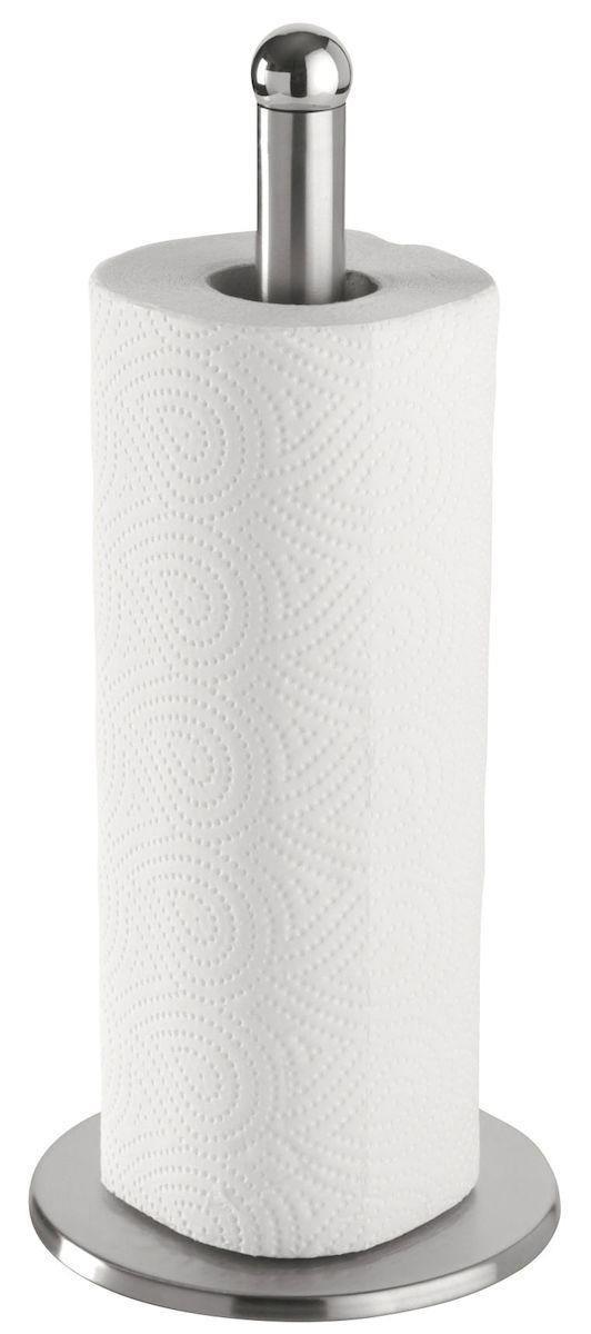 Держатель для бумажных полотенец Axentia, высота 35 см4630003364517Держатель для бумажных полотенец Axentia изготовлен из нержавеющей стали. Вы можете установить его в любом удобном месте. Такой держатель для бумажных полотенец станет полезным аксессуаром в домашнем быту и идеально впишется в интерьер современной кухни.