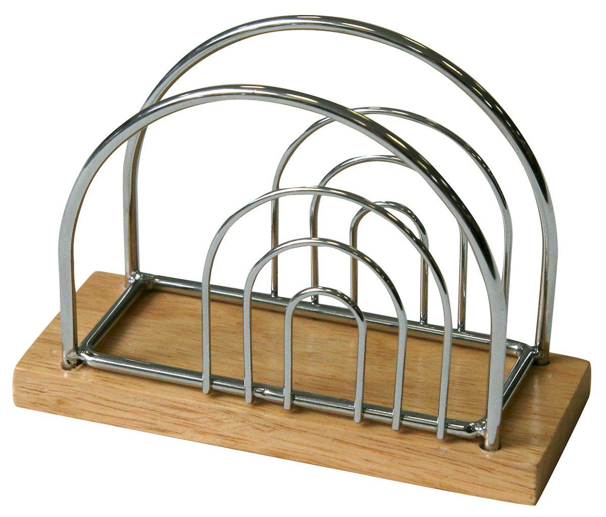 Салфетница Axentia Top Star, 13 х 9,5 см115510Салфетница Axentia Top Star изготовлена из высококачественной хромированной стали и дерева. Эксклюзивный дизайн, эстетичность и функциональность сделают ее красивым дополнением сервировки стола и полезным приобретением для вашей кухни. Изделие можно мыть в посудомоечной машине.Размеры: 13 х 9,5 см.