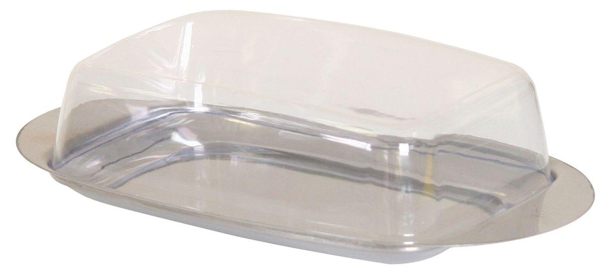 Масленка Top Star. 22501154 009312Масленка Top Star из нержавеющей стали с крышкой из прозрачного пластика прямоугольной формы.