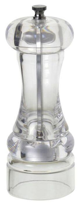 Мельница для перца и специй Axentia, высота 17 смSC-FD421005Мельница для перца Axentia, изготовленная из акрила, легка в использовании. Стоит только покрутить верхнюю часть мельницы, и вы с легкостью сможете поперчить по своему вкусу любое блюдо. Механизм мельницы изготовлен из высококачественной стали. Степень помола можно регулировать. Оригинальная мельница модного дизайна будет отлично смотреться на вашей кухне.Высота: 17 см.