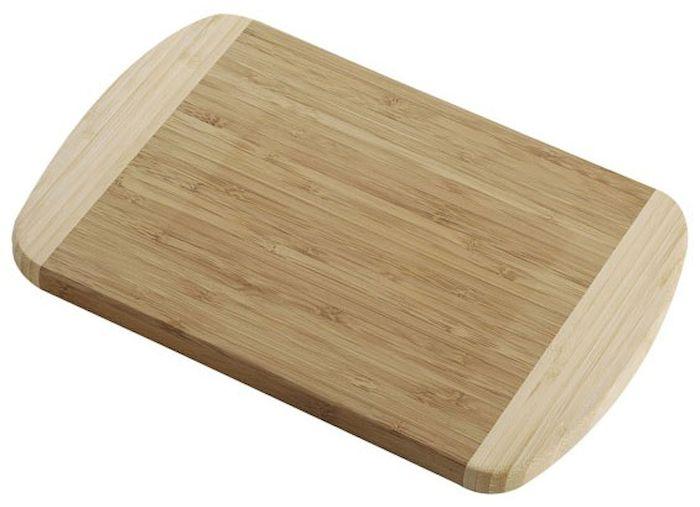 Доска Axentia высокой прочности, 30 x 20 x 1,6 см. 26046254 009312Доска разделочная Axentia из 100% натурального бамбука, высокой прочности. Не боится воды, не впитывает запахи, долговечная. Легко моется, бережно относится к лезвию ножа, размер 30 x 20 x 1,6 см.