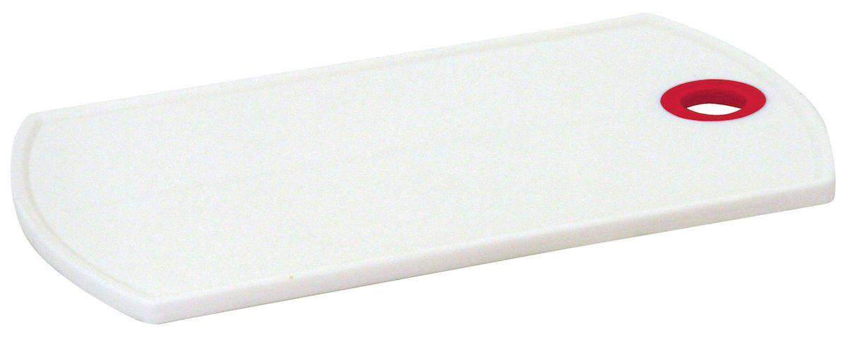 Доска разделочная Axentia, цвет: белый, красный, 26 х 15 смFS-91909Разделочная доска Axentia выполнена из пластика и оснащена отверстием для подвешивания. Прочная структура пластика устойчива к механическим повреждениям. Легко моется, не впитывает запахи. Такая доска понравится любой хозяйке и будет отличным помощником на кухне. Можно мыть в посудомоечной машине.