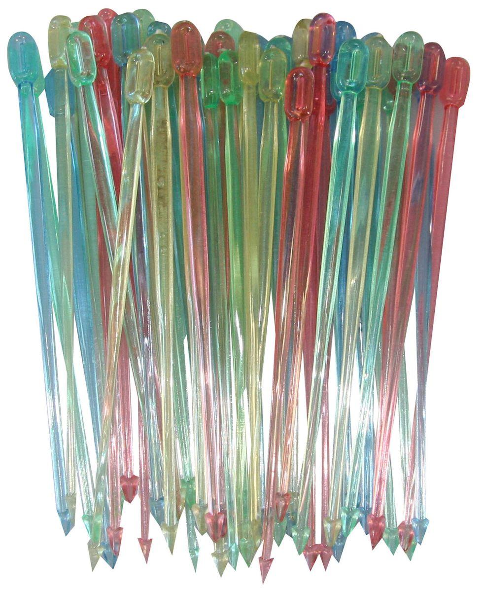 Шпажки Axentia для канапе, 50 шт54 009305Набор Axentia, изготовленный из пластика, состоит из 50 шпажек для канапе. Канапе созданы для утоления легкого голода на фуршетах. А еще эти крохотные бутерброды могут стать украшением всего торжества. Конечно, если и сами они оформлены должным образом. Например, украшены этими замечательными шпажками.Такой набор идеально подойдет для оформления детского канапе, или для тарелки с фруктами!Длина шпажки: 8,5 см.