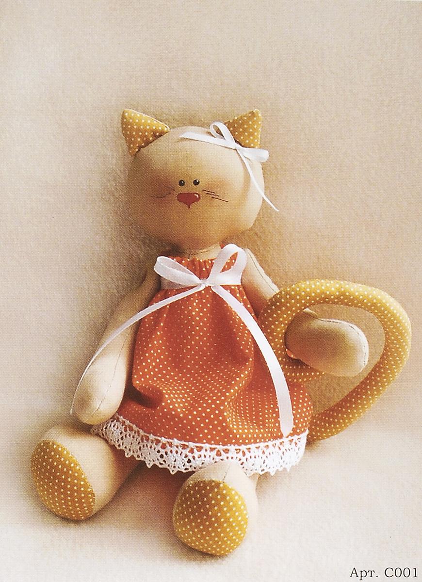 Набор для изготовления игрушки Ваниль Cat's Story, высота 27 см. C001 набор для изготовления игрушки ваниль angels story высота 36 см