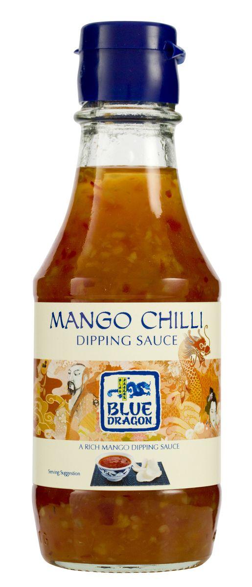 Blue Dragon Соус чили и манго, 190 мл4604248002381В качестве дип-соуса незаменим для: спринг-роллов, снеков. Добавляйте в сэндвичи и бутерброды с листьями.