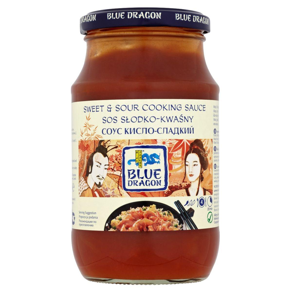 Blue Dragon Соус кисло-сладкий, 425 г0120710Не содержит искусственных красителей и ароматизаторов. Подходит для вегетарианцев и веганов. Рекомендуется подавать с жареным рисом с яйцом.