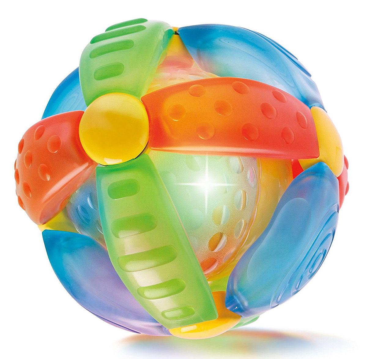 B kids Развивающая игрушка Шар-цветок b kids развивающая игрушка шар конструктор