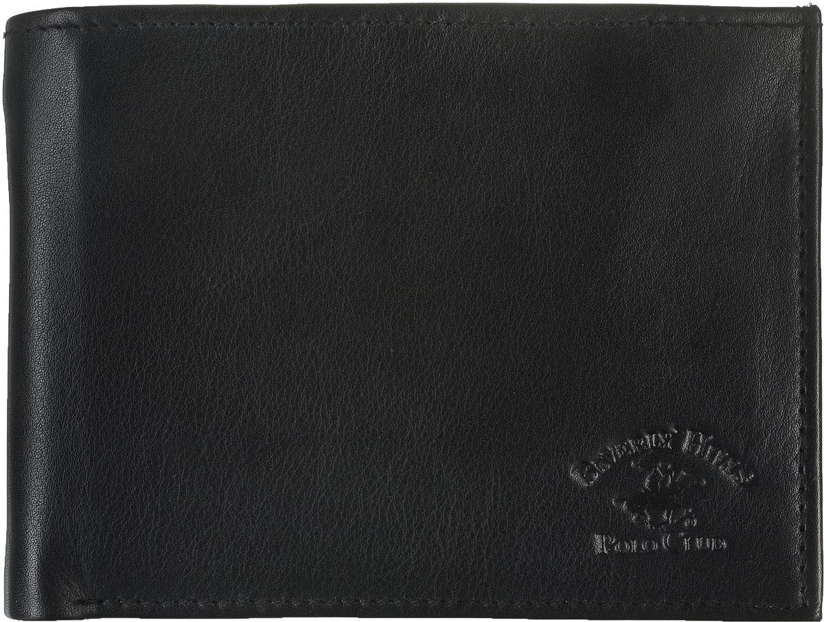 Портмоне мужское Beverly Hills Polo Club, цвет: черный. 803BM8434-58AEПортмоне Beverly Hills Polo Club выполнено из натуральной гладкой кожи. Внутри портмоне есть три отделения для купюр, одно из которых закрывается на застежку-молнию, В портмоне расположено два кармана для кредитных карт, один сетчатый карман. отделение для монет с клапаном на кнопке.Портмоне для мужчины - неотъемлемая часть имиджа! Порадуйте мужчину таким ярким, стильным и практичным подарком.Поставляется портмоне в фирменной картонной коробке.