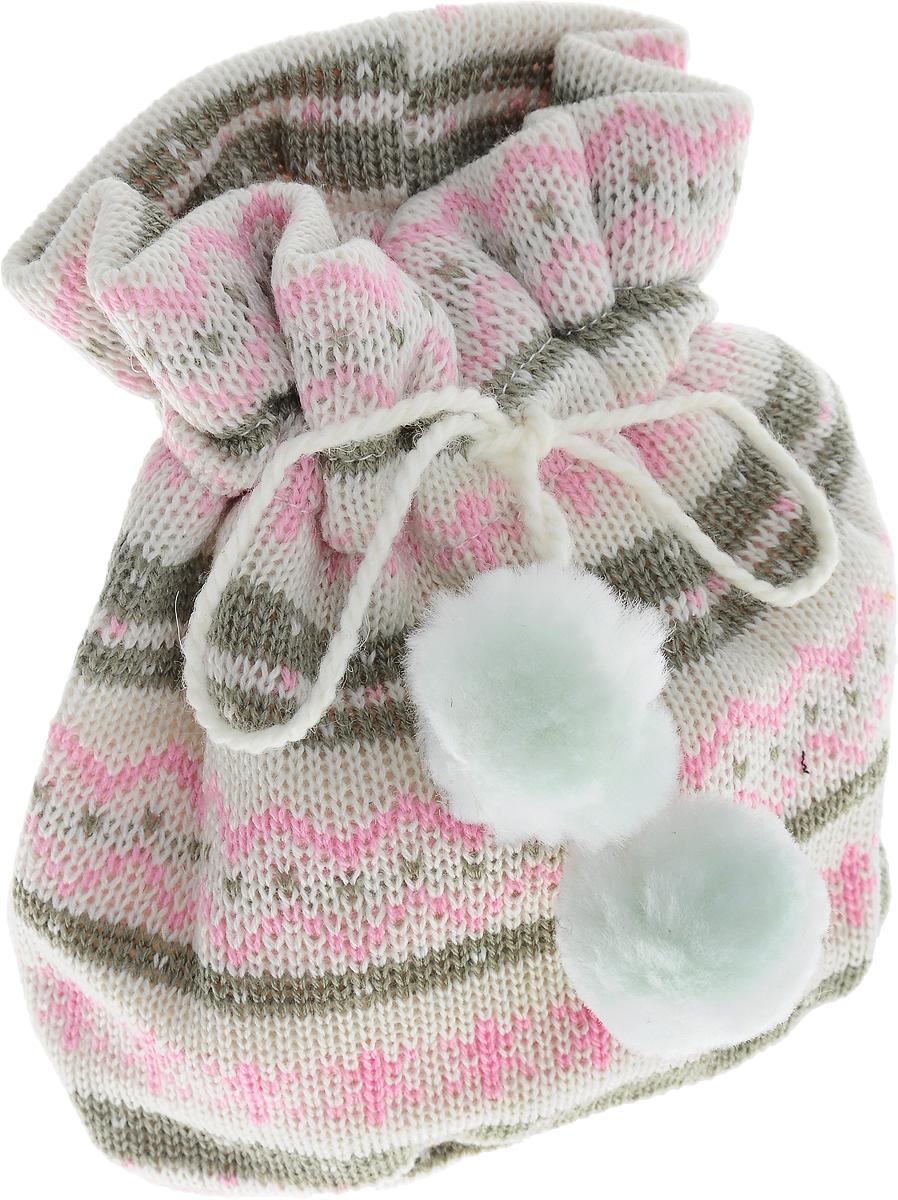 Мешок для подарков Winter Wings Жаккард светлый, цвет: белый, розовый, 20 х 17 х 1 см1.645-504.0Мешок для подарков Winter Wings Жаккард светлый выполнен из полиэстера. В мешочек можно положить подарки и спрятать под елку. Изделие очень мягкое и приятное на ощупь. С помощью специальных шнурков мешочек легко завязывается. Новогодние украшения несут в себе волшебство и красоту праздника. Они помогут вам украсить дом к предстоящим праздникам и оживить интерьер по вашему вкусу. Создайте в доме атмосферу тепла, веселья и радости, украшая его всей семьей.