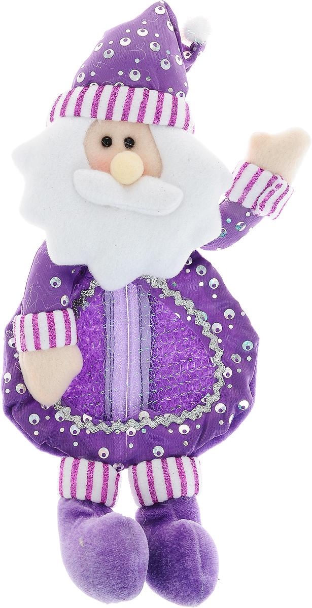 Мешок для подарков Winter Wings Новогодний, 33 х 15 смDP-B63-69224BМешок Winter Wings Новогодний, выполненный из полиэстера, декорирован блестками. Этот праздничный аксессуар предназначен специально для новогодних и рождественских подарков. С помощью петельки его можно подвесить в любое понравившееся место.Традиция класть подарки в новогодние чулки (в Европе эти же чулки называются рождественскими) появилась в нашей стране относительно недавно, но уже пользуется популярностью. Чулки, как и другие новогодние украшения, создают в доме атмосферу тепла и уюта, сближая всю семью. Особенно эта традиция приводит в восторг детей. Да и взрослому будет не менее интересно получить подарок в такой оригинальной упаковке.Размер изделия: 33 х 15 см.