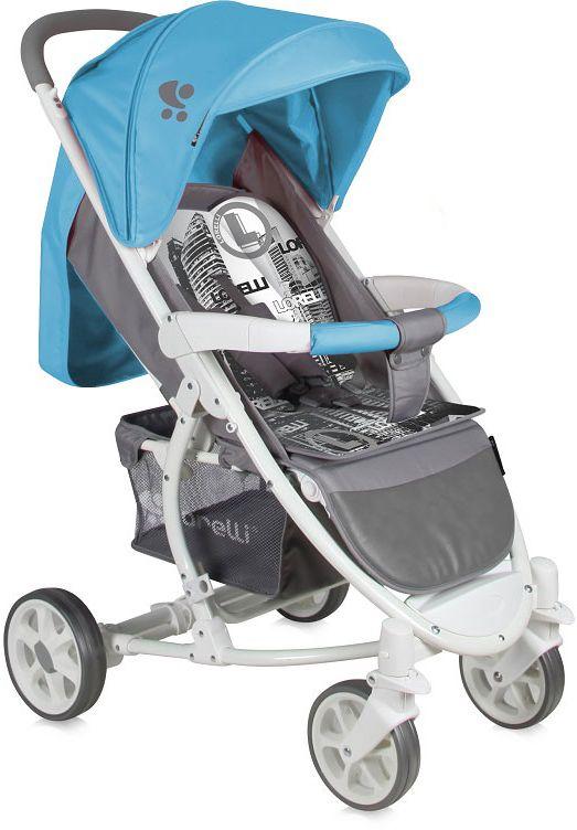 Lorelli Коляска прогулочная S-300 цвет синий melogo детская коляска