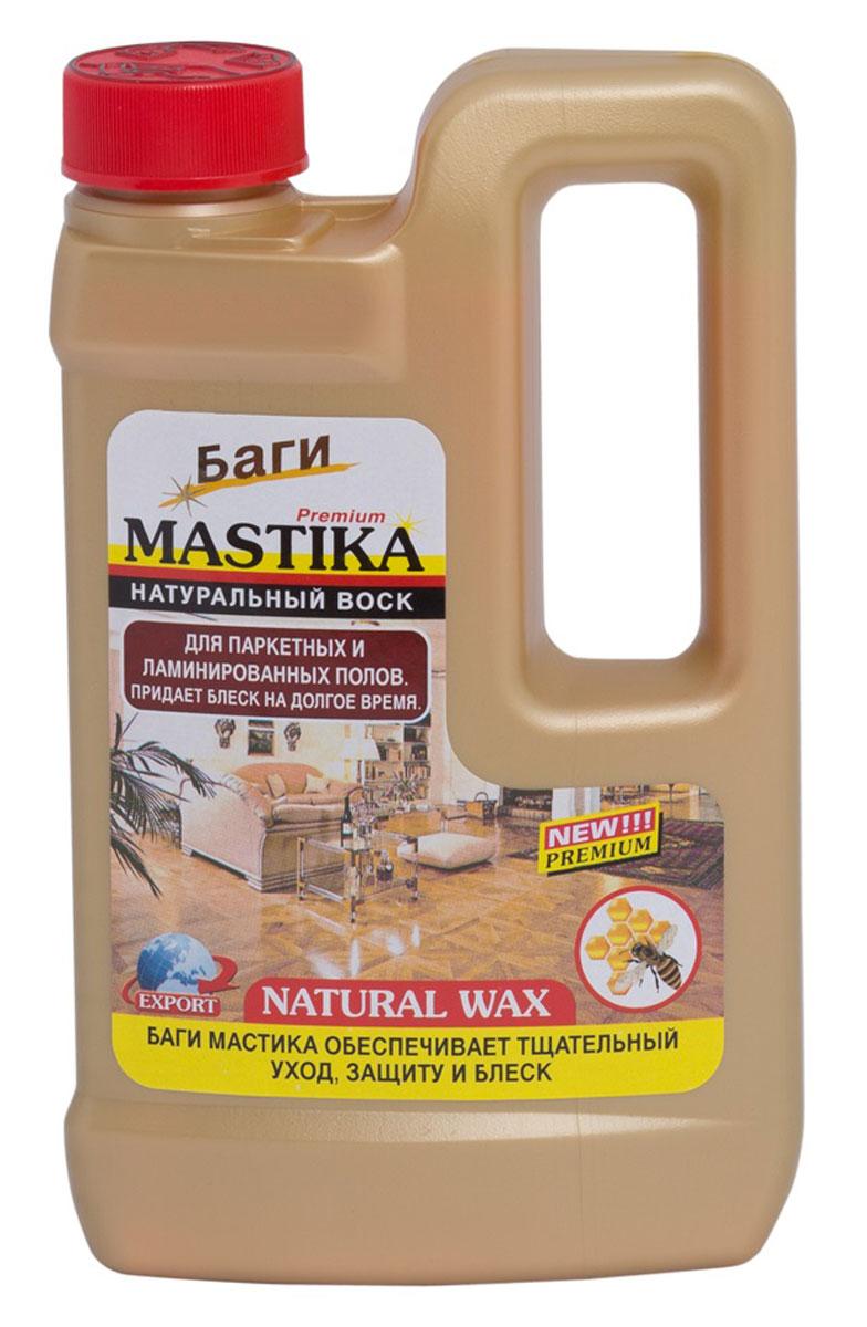 Средство для паркетных и ламинированных полов Bagi Мастика, 500 мл391602средство с натуральным воском для паркетных, ламинированных и деревянных полов