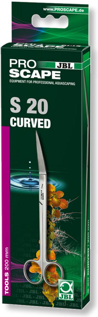 Угловые ножницы для ухода за растениями JBL ProScape Tool S curved, длина 20 смJBL6154300JBL ProScape Tool S curved - Угловые ножницы для ухода за растениями, длина 20 см