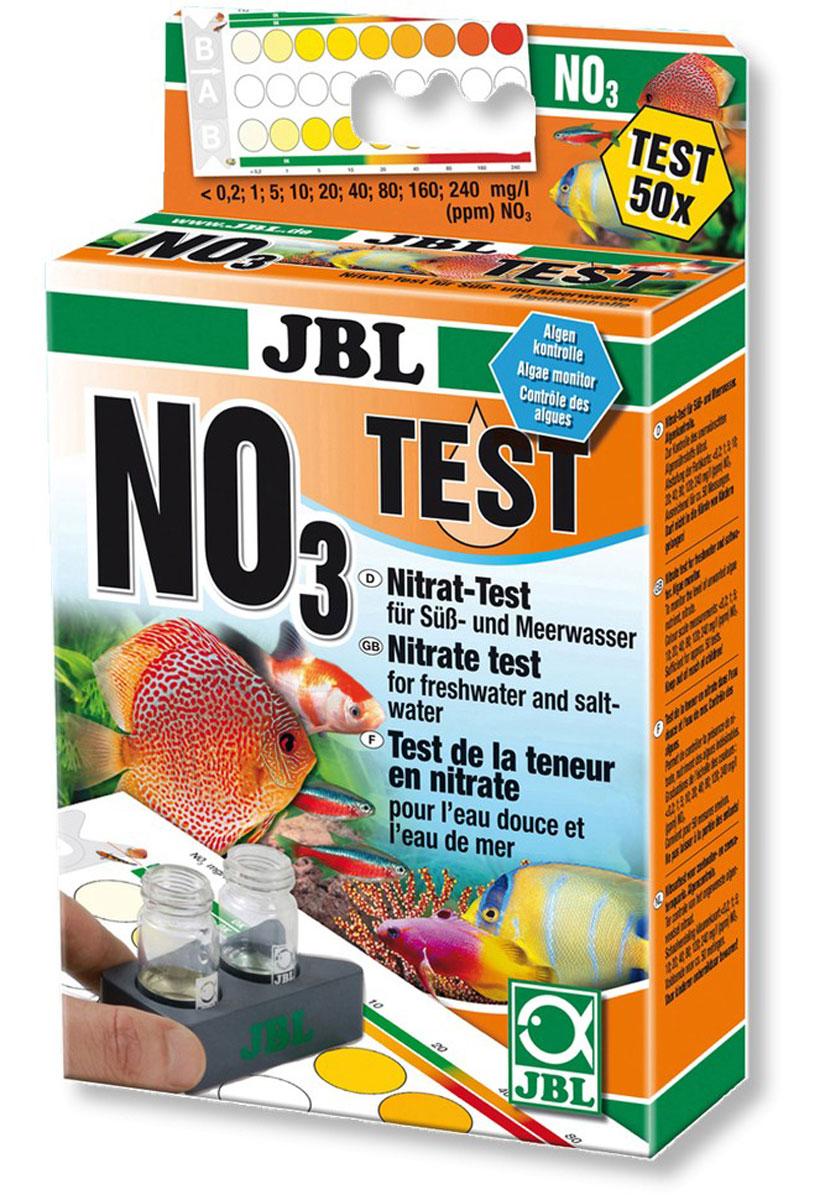Тест на нитрат NO3 JBL Nitrat Test-Set NO312171996Тест JBL Nitrat Test-Set NO3 предназначен для определения содержания нитратов в пресноводных и морских аквариумах и прудах. Простой и надежный контроль параметров воды для аквариума. Правильный химический состав воды в аквариуме / пруду зависит от популяции рыб и растений. Даже если вода прозрачная, она может быть заражена. При плохих параметрах в аквариуме / пруду появляются заболевания или водоросли. Для здорового аквариума / пруда с природными условиями важно регулярно проверять и корректировать параметры воды. Нитрат - конечный продукт минерализации в аквариуме / пруду и даже при относительно высоких концентрациях не токсичен для рыб, однако, отрицательно влияет на рост растений и самочувствие многих видов рыб. Чрезмерное количество нитратов также способствует нежелательному росту водорослей при наличии также фосфатов в воде. Лабораторная компараторная система учитывает цвет воды: наберите в кювету пробу воды, добавьте реагенты, поместите кюветы в держатель, посмотрите показания по цветовой шкале. Экспресс-тест рассчитан примерно на 50 измерений. В комплект входят 2 реагента, 2 стеклянные кюветы с закручивающимися крышками, шприц, мерная ложка, компараторный блок и цветовая шкала. Реагенты также продаются отдельно. Длительность применения: раз в неделю в новом пресноводном аквариуме; раз в неделю в новом морском аквариуме.