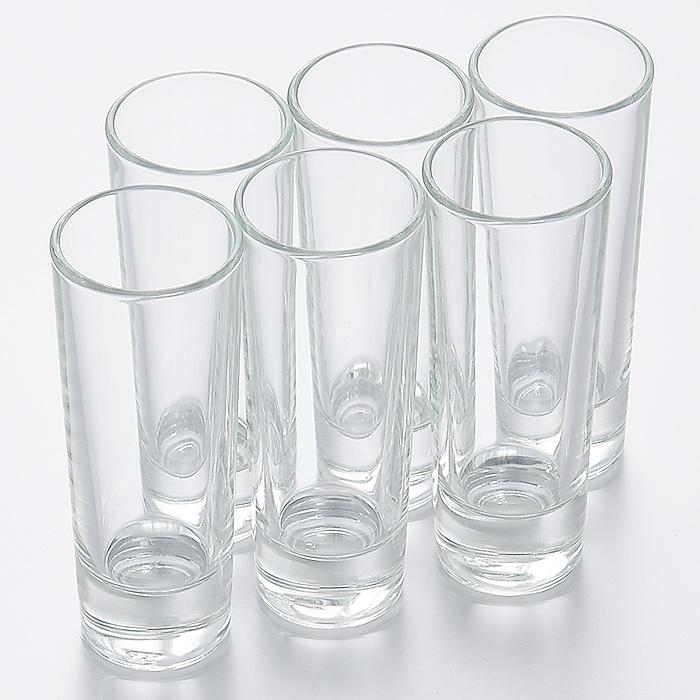 Набор стопок Luminarc Нью-Йорк, 50 мл, 6 штH5018Набор Luminarc Нью-Йорк состоит из шести стопок, выполненных из высококачественного стекла. Стопки предназначены для подачи крепких алкогольных напитков. Они сочетают в себе элегантный дизайн и функциональность. Благодаря такому набору стопок пить напитки будет еще приятнее.Набор стопок Luminarc Нью-Йорк идеально подойдет для сервировки стола и станет отличным подарком к любому празднику.Характеристики:Материал: натрий-кальций-силикатное стекло.Объем стопки: 50 мл.Диаметр стопки по верхнему краю: 4 см.Высота стопки: 10,5 см.Диаметр основания стопки: 3,2 см.Комплектация: 6 шт.