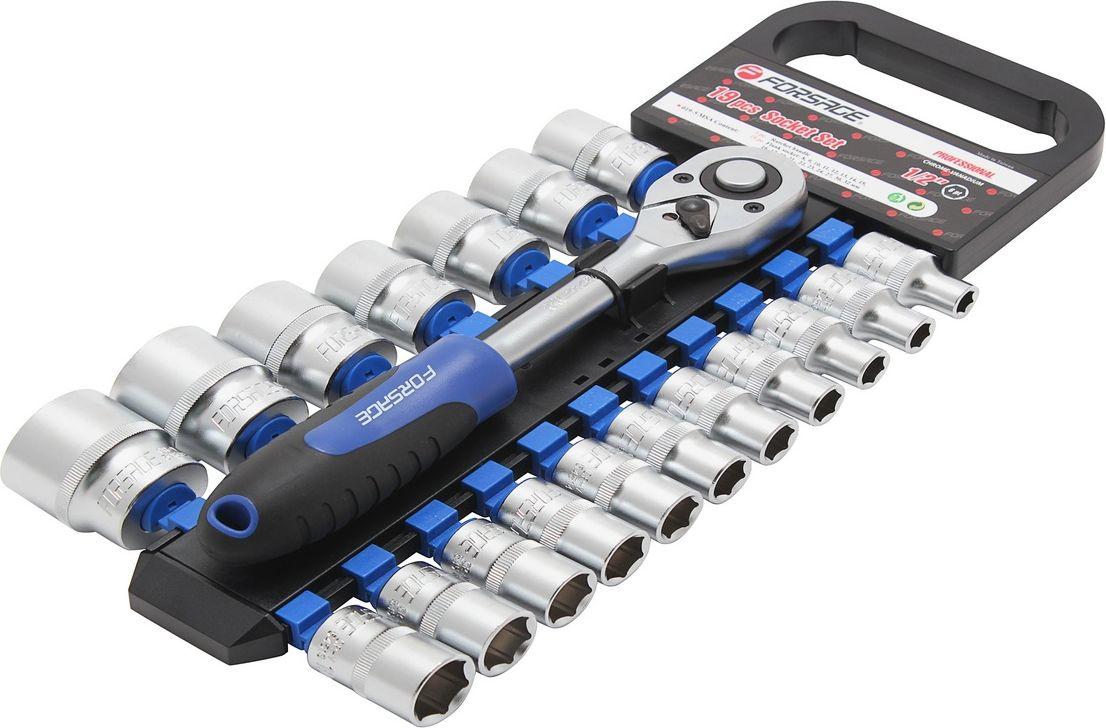 Набор инструментов универсальный Forsage, 19 предметов. 019-5 MSA набор головок forsage 16 предметов 4161 5
