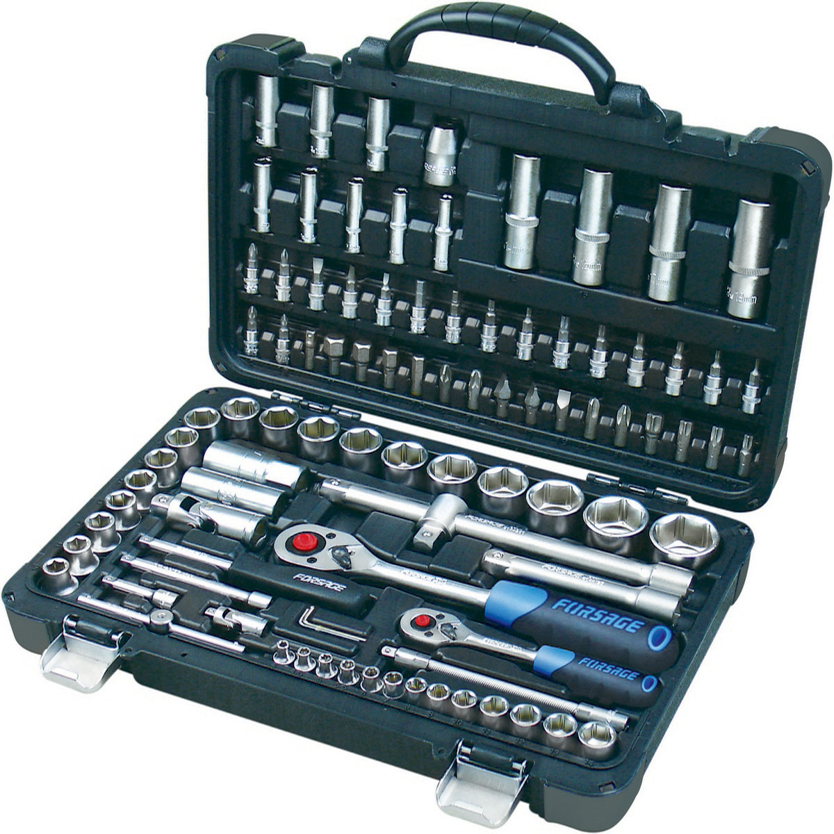 Набор инструментов универсальный Forsage, 94 предмета. 4941-5 набор головок forsage 16 предметов 4161 5
