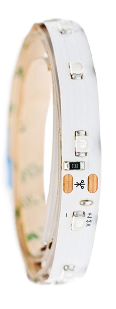 Лента светодиодная Главдор, цвет: белый, 900 мм