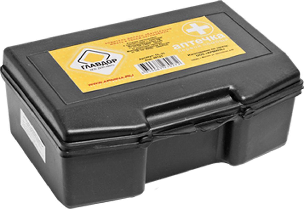 Аптечка автомобильная Главдор. GL-25 бинт стерильный 14 см х 7 м экстра плюс высокой плотности