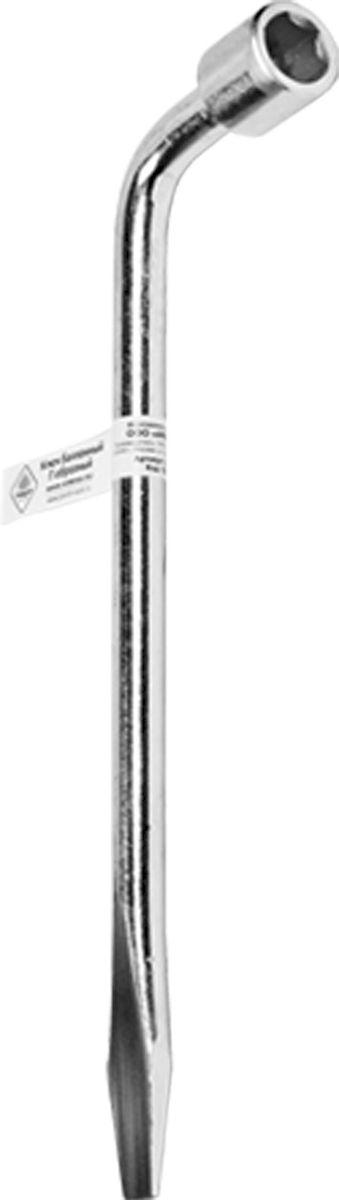 Ключ баллонный Главдор, Г-образный, 17 х 330 мм80621Ключ балонный Г-образный выполнен из инструментальной стали, обеспечивает долгосрочное использование изделия. Ключ оснащен усиленной конструкцией.Торцевая головка: 17 мм. Длина ключа: 330 мм.