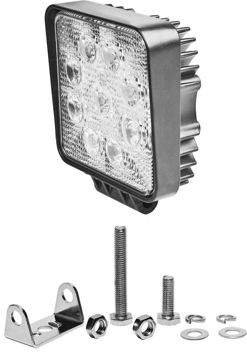 Фара светодиодная дополнительная Главдор S-30 degree, 24W, 8 диодов, 12/24В, 115х50х115 мм. GL-41410503Дополнительный источник освещения в металлическом корпусе, на основе светодиодных источников света. Крепление в комплекте.