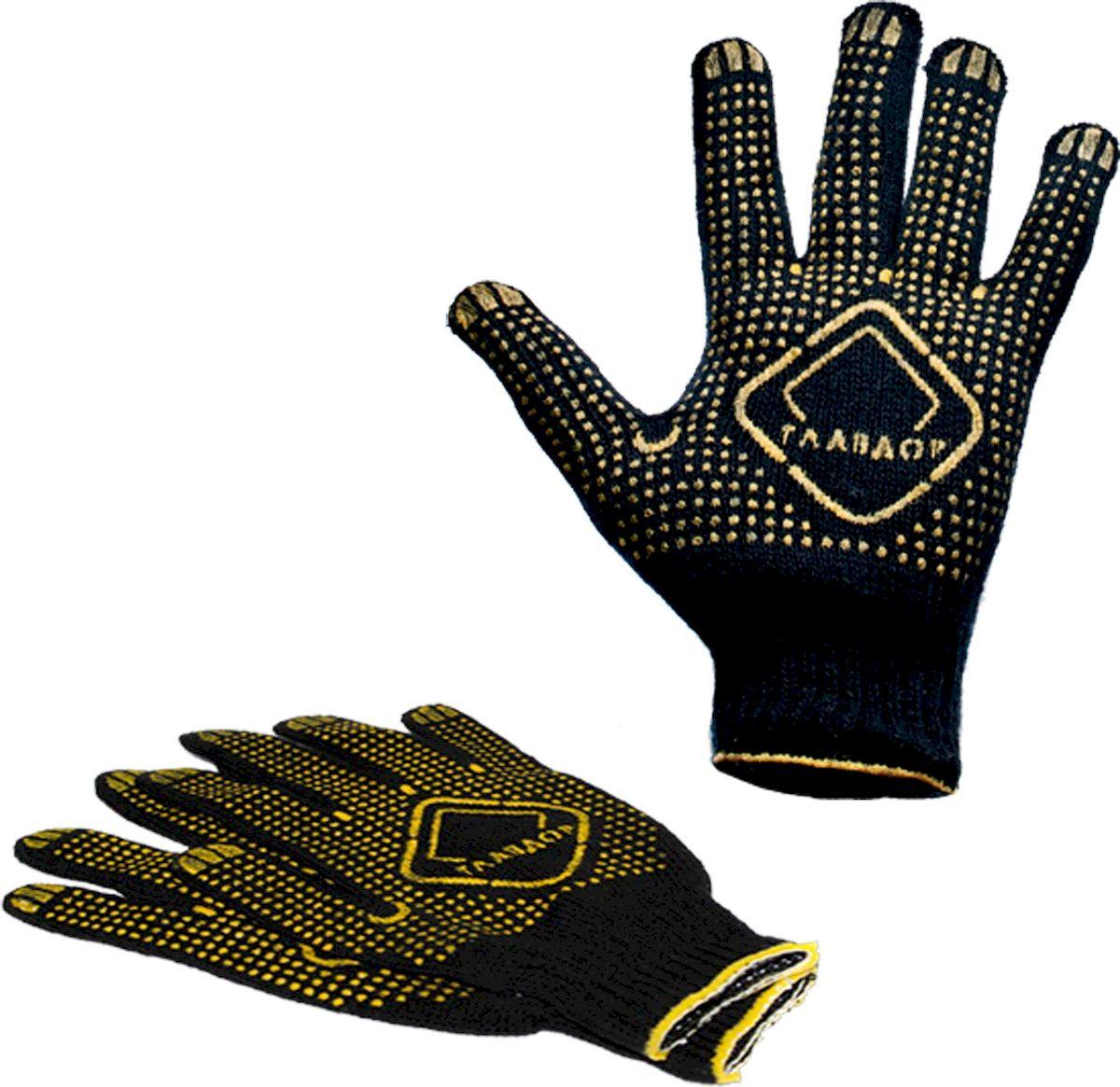 Перчатки защитные Главдор, цвет: черный. GL-44DH2400D/ORКлассические защитные перчатки Главдор выполнены из хлопка в 4 нити с точками с ПВХ. Прекрасно подходят для проведения ремонтных и прочих работ, а также для защиты рук от загрязнений.