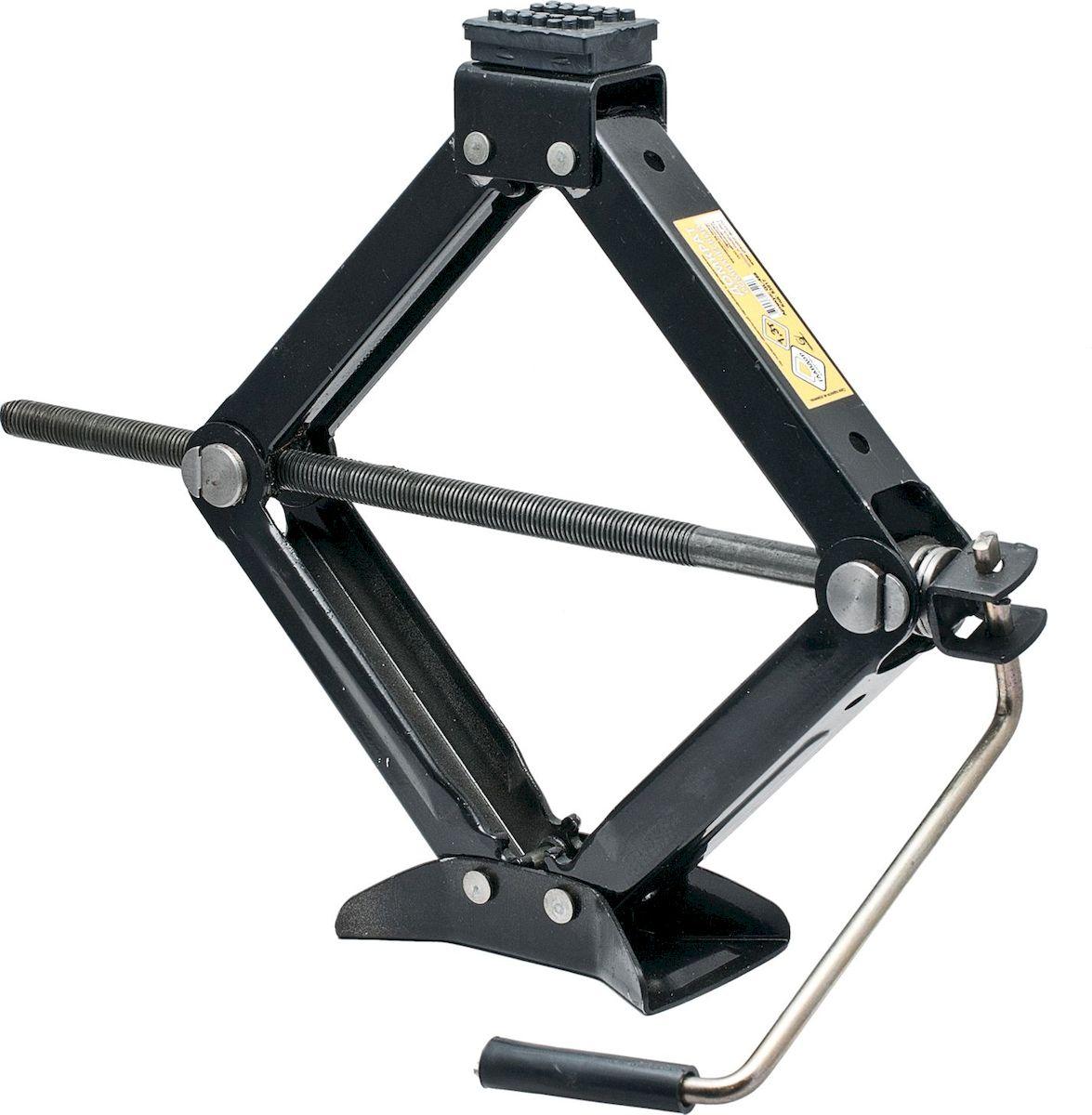 Домкрат ромбический Главдор, механический, 1,3 тGL-467Механический ромбический домкрат Главдор предназначен для поднятия грузов весом до 1,3 т. Домкрат отличается компактностью конструкции, простотой обслуживания и надежностью в эксплуатации. Домкрат имеет удобные ручки для плавного равномерного подъема при небольших усилиях.Полностью металлическая конструкция узлов и агрегатов обеспечивает высокую надежность и отказоустойчивость. В качестве несущих элементов используются четыре шарнирно-соединительных рычага, образующих ромб. Подъем груза происходит за счет изменения углов между рычагами, что приводит к увеличению или уменьшению расстояния между подхватом и опорной площадкой.