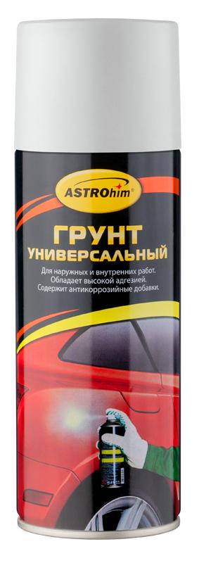 Грунт универсальный ASTROhim, цвет: белый, 520 млАС-611Высококачественный алкидный грунт ASTROhim предназначен для подготовки к окраске металлических и деревянных поверхностей всеми видами лакокрасочных материалов, кроме нитроцеллюлозных. Применяется для наружных и внутренних работ. Обладает высокой адгезией, атмосферостойкостью и хорошей укрывистостью. Легко наносится на труднодоступные места. Содержит комплекс антикоррозийных пигментов и добавок. Образует на грунтуемой поверхности прочное покрытие, защищающее металлические поверхности от коррозии, прекрасно шлифуется, устойчиво к воздействию воды и технических масел. Товар сертифицирован.