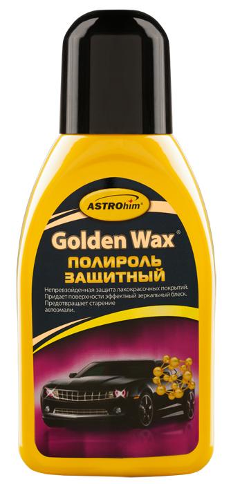Полироль защитный ASTROhim Golden Wax, 250 млRC-100BWCПолироль защитный ASTROhim Golden Wax предназначен специально для защиты новых лакокрасочных покрытий, в том числе типа металлик, а также предварительно обработанных абразивами поверхностей. Благодаря высококачественным натуральным воскам обеспечивает интенсивную долговременную и надежную защиту от агрессивного воздействия погодных условий. Придает лакокрасочному покрытию зеркальный, стойкий глянец, а также грязе- и водоотталкивающие свойства. Защищает лакокрасочное покрытие от разрушительного действия кислотных осадков, дорожных реагентов, ультрафиолетовых лучей и профессиональной химии, применяемой на автомойках. Товар сертифицирован.