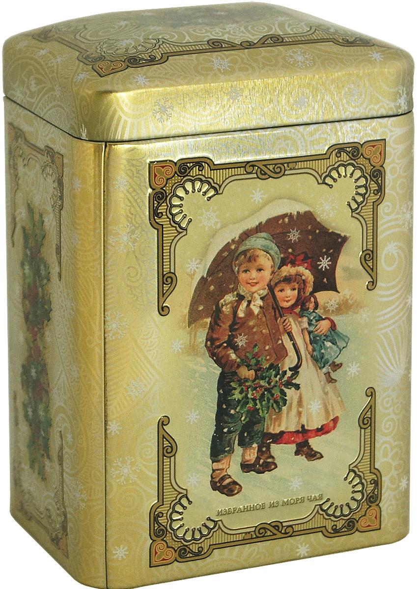Избранное из моря чая Новый Год Винтаж чай черный листовой, 75 г (цвет бежевый) шри гунараджа хан шри кршна виджайа