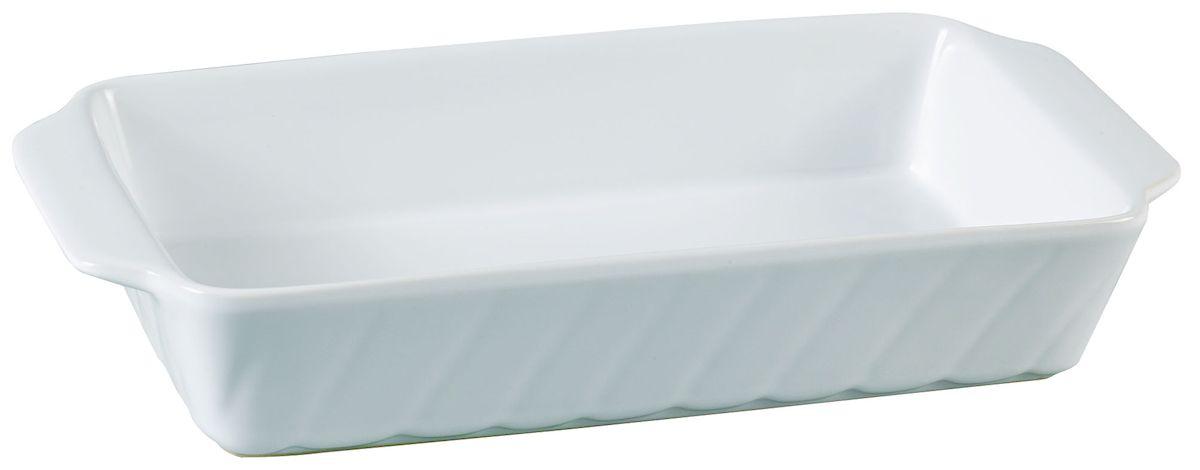 Форма для запекания Axentia, прямоугольная, 30 х 15,5 см94672Прямоугольная форма для запекания Axentia выполнена из керамики с фаянсовым покрытием, что обеспечивает оптимальное распределение тепла. Изделие оснащено удобными ручками. Пригодна для использования в микроволновых печах, морозильных камерах, духовках и для мытья в посудомоечной машине.Размер формы (по верхнему краю): 30 см х 15,5 см.Высота стенки: 6 см.