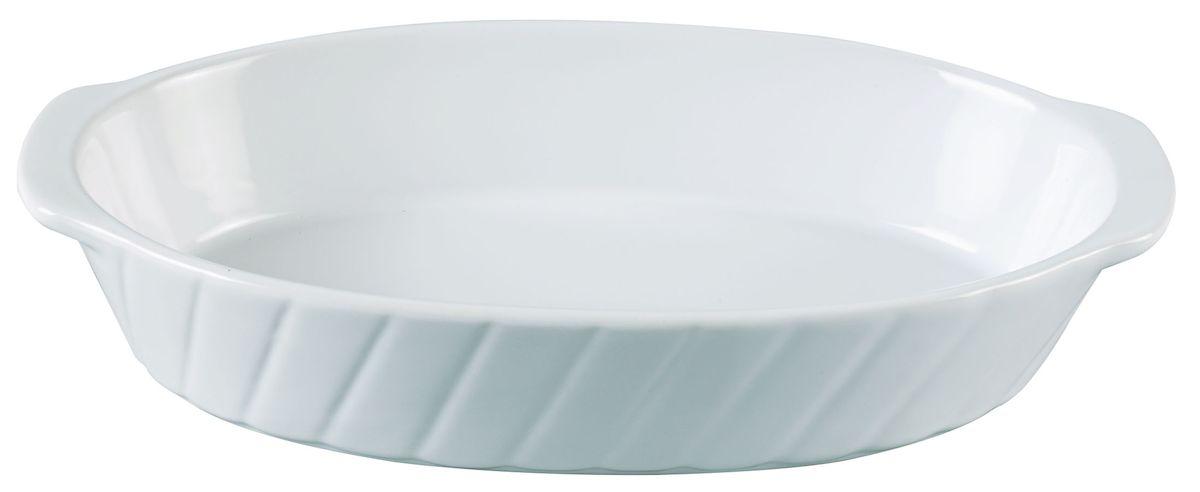 Форма для запекания Axentia, овальная, 29,5 х 17,5 см94672Овальная форма для запекания Axentia выполнена из керамики с фаянсовым покрытием, что обеспечивает оптимальное распределение тепла. Изделие оснащено удобными ручками. Пригодна для использования в микроволновых печах, морозильных камерах, духовках и для мытья в посудомоечной машине.Размер формы (по верхнему краю): 29,5 см х 17,5 см.Высота стенки: 5,5 см.
