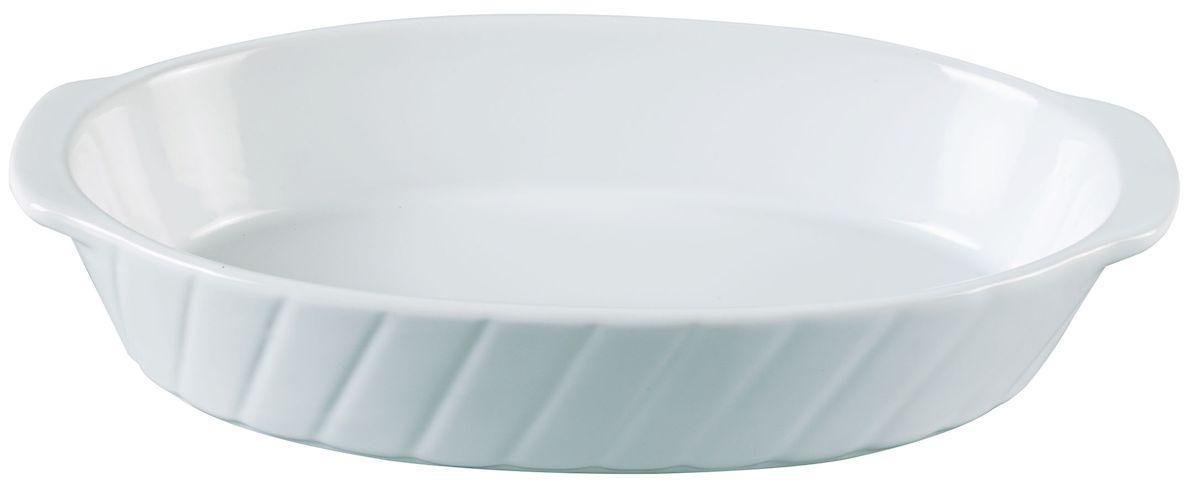 Форма для запекания Axentia, овальная, 24,5 х 14 смОБЧ00000130_коричневый, белый цветокОвальная форма для запекания Axentia выполнена из керамики с фаянсовым покрытием, что обеспечивает оптимальное распределение тепла. Изделие оснащено удобными ручками. Пригодна для использования в микроволновых печах, морозильных камерах, духовках и для мытья в посудомоечной машине.Размер формы (по верхнему краю): 24 см х 14 см.Высота стенки: 4,5 см.