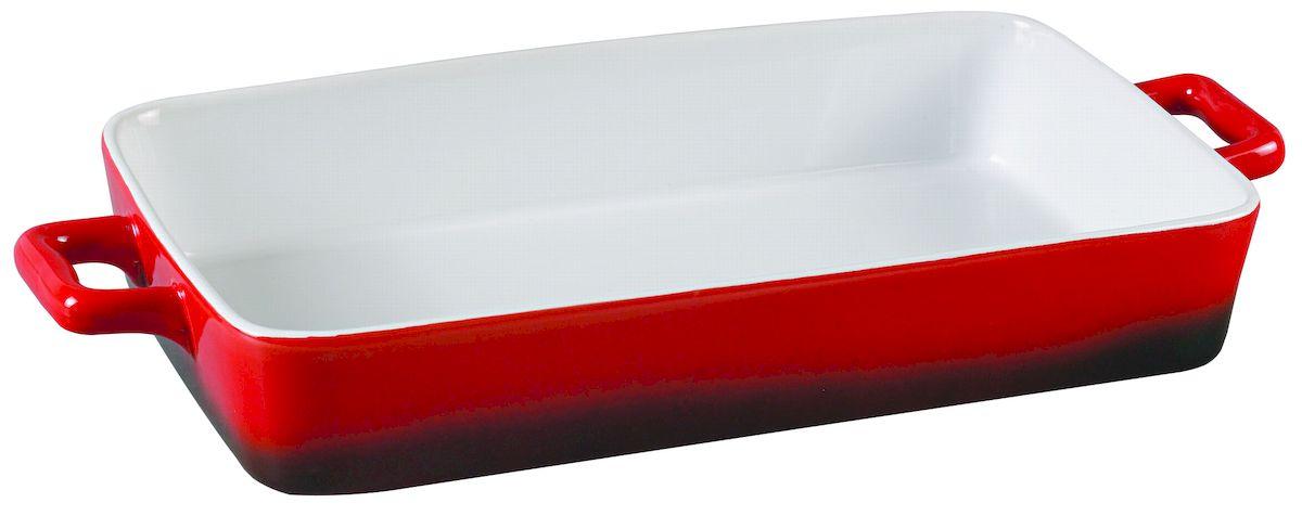Форма для запекания Axentia, прямоугольная, 40 х 19 см124172Прямоугольная форма для запекания Axentia выполнена из керамики с фаянсовым покрытием, что обеспечивает оптимальное распределение тепла. Изделие оснащено удобными ручками. Пригодна для использования в микроволновых печах, морозильных камерах, духовках и для мытья в посудомоечной машине.Размер формы (по верхнему краю): 40 см х 19 см.Высота стенки: 6 см.