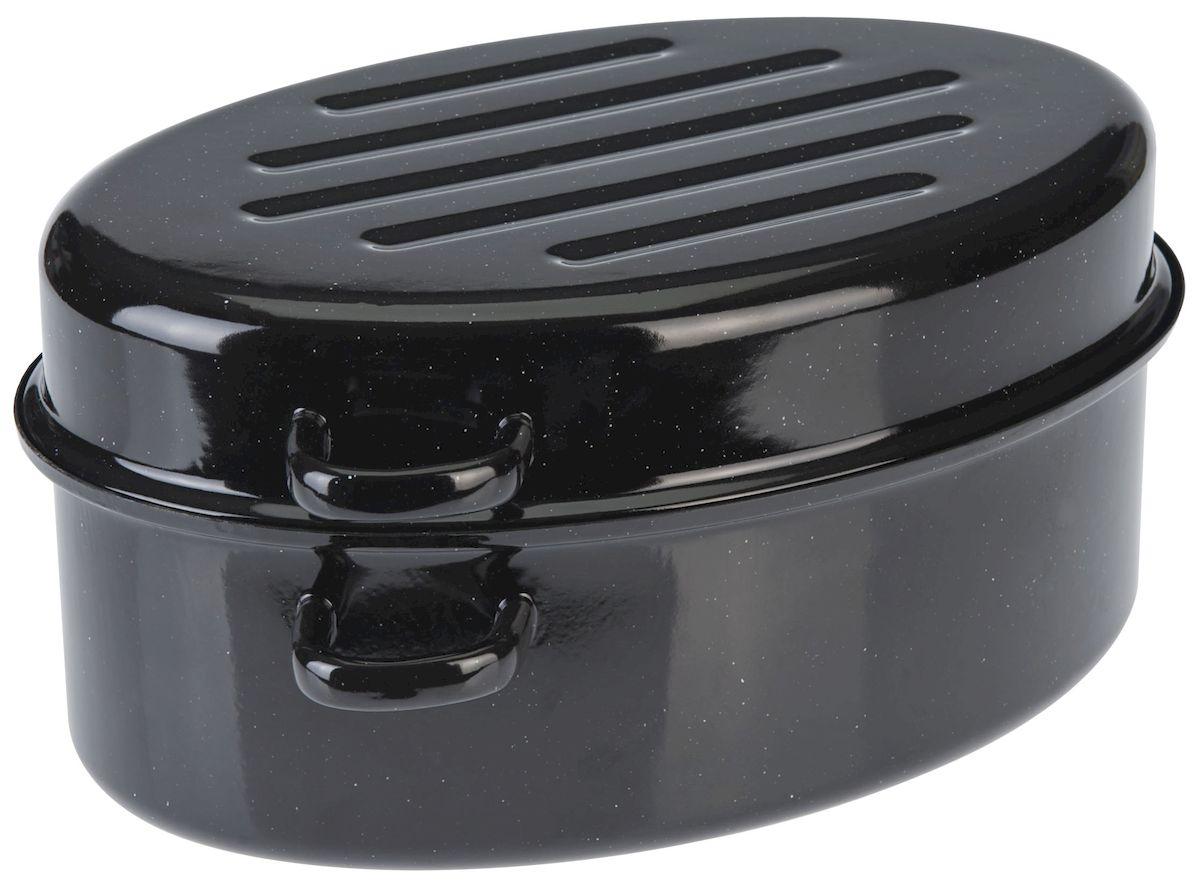 Утятница Axentia с крышкой, с эмалированным покрытием, 4,5 л391602Утятница Axentia, изготовленный из стали, идеально подходит для приготовления вкусных тушеных блюд. Она имеет внутреннее высококачественное твердое эмалевое покрытие.Утятница оснащена двумя удобными ручками и крышкой, которая плотно прилегает к краю, сохраняя аромат блюд. Идеально для нежной жарки, варки и тушения с низком содержанием жира для приготовления гусей, курицы, утки. Изделие оснащено специальным покрытием для легкой очистки. Подходит для всех типов плит, включая индукционные. Можно использовать в духовом шкафу. Можно мыть в посудомоечной машине.