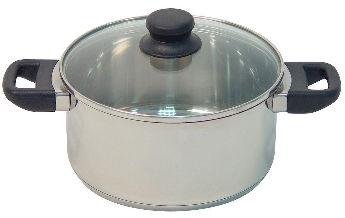 Кастрюля Axentia Alsass с крышкой, 1,3 л221001Кастрюля Axentia Alsass выполнена из двухкомпонентной стали, алюминия и нержавеющей стали. Кастрюля оснащена удобными ненагревающимися ручками из термопластика. В комплекте - жаропрочная стеклянная крышка с пароотводом и ободом из нержавеющей стали. Подходит для всех типов плит и варочных панелей, в том числе индукционных. Можно мыть в посудомоечной машине.Диаметр кастрюли (по верхнему краю): 16 см.