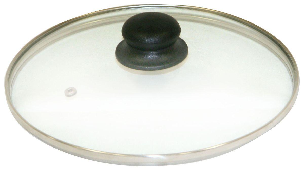 Крышка Axentia. Диаметр 14 см54 009312Крышка Axentia изготовлена из жаропрочного стекла с ободом из нержавеющей стали и пластиковой ручкой. Она оснащена отверстием для выпуска пара. Окантовка предохраняет от механических повреждений. Изделие удобно в использовании и позволяет контролировать процесс приготовления пищи.