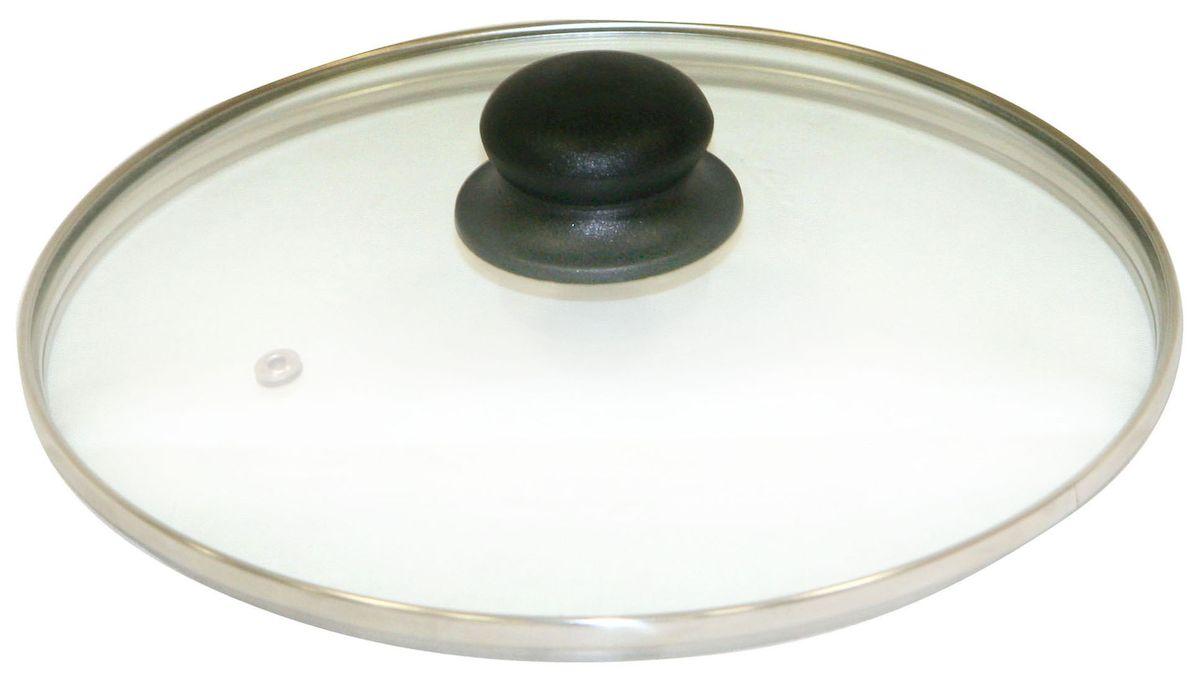 Крышка Axentia. Диаметр 20 см391602Крышка Axentia изготовлена из жаропрочного стекла с ободом из нержавеющей стали и пластиковой ручкой. Она оснащена отверстием для выпуска пара. Окантовка предохраняет от механических повреждений. Изделие удобно в использовании и позволяет контролировать процесс приготовления пищи.