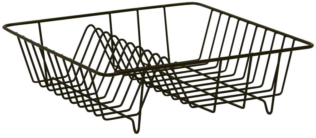 Сушилка Axentia для посуды, цвет: коричневый, 34 х 34 х 11 смВетерок 2ГФСушилка для посуды Axentia выполнена из металла с порошковым покрытием. Изделие оснащено отделением для тарелок и стаканов. Сушилку можно установить на крыло мойки, стол или в кухонный шкаф. Очень практичная и функциональная сушилка не займет много места на кухне и стильно оформит интерьер.