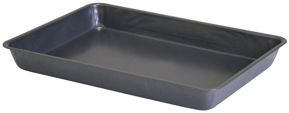 Противень-жаровня Top Star, с антипригарным покрытием, 37,5 х 26 смFS-91909Жаровня-противень Top Star изготовлена из стали с антипригарным покрытием. Изделие оптимальной теплопроводности предназначено для запекания и выпечки.Можно мыть в посудомоечной машине.Высота стенки: 5,5 см.