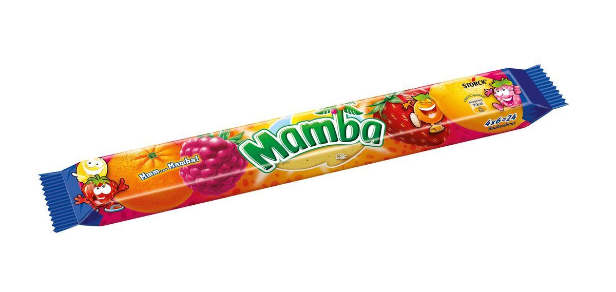 Mamba Жевательная конфета, 106 г