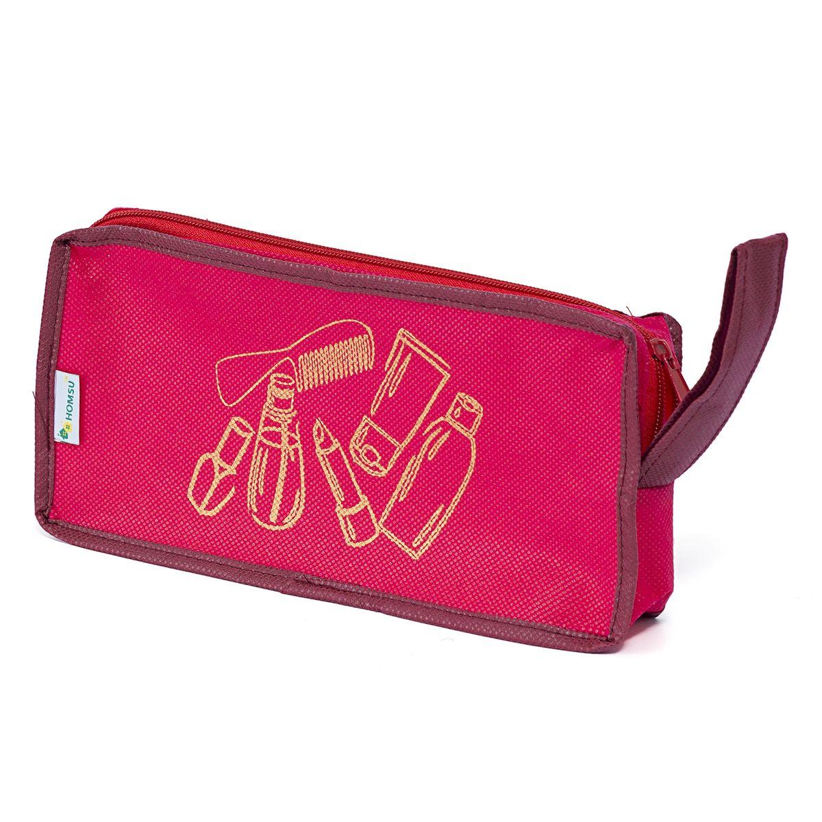 Косметичка Homsu Lady in Red, 25 х 12 х 5 смБрелок для ключейОригинальная косметичка Homsu Lady in Red выполнена из высококачественного материала и оформлена оригинальным принтом. Изделие содержит одно вместительное отделение, которое закрывается на застежку-молнию. Такая косметичка вместит в себя все самое необходимое и станет замечательным подарком человеку, ценящему практичные вещи.