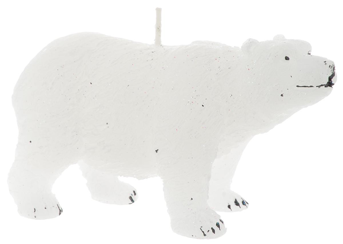 Свеча Winter Wings Полярный медведь, 14 х 5 х 7,5 смN161019Свеча Winter Wings Полярный медведь, изготовленная из парафина, станет прекрасным украшением интерьера помещения в преддверии Нового года. Такая свеча создаст атмосферу таинственности и загадочности и наполнит ваш дом волшебством и ощущением праздника. Хороший сувенир для друзей и близких.