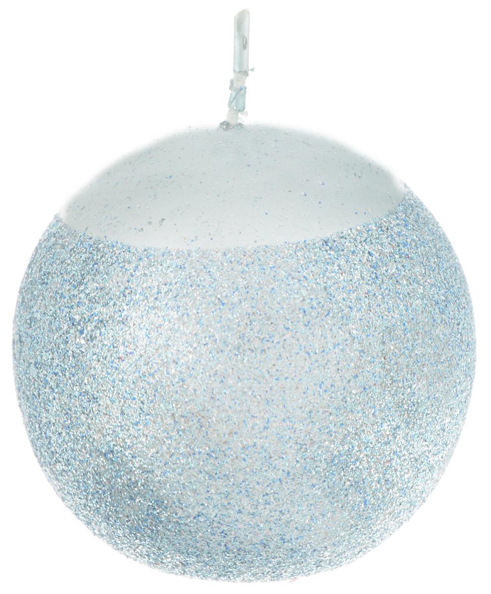 Свеча Winter Wings Шар, диаметр 5,5 смN07262_синийСвеча Winter Wings Шар, изготовленная из парафина с блестками, станет прекрасным украшением интерьера помещения в преддверии Нового года. Такая свеча создаст атмосферу таинственности и загадочности и наполнит ваш дом волшебством и ощущением праздника. Хороший сувенир для друзей и близких.